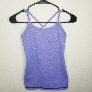 NWOT Ivivva Razor Back Athletic Top Size 10 purple